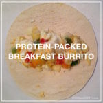 Fresh Breakfast Burrito Meal Prep