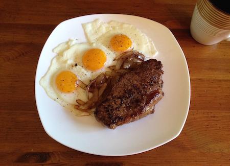 Steak and Eggs diet