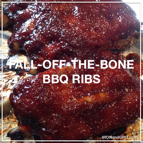 fall off the bone bbq ribs