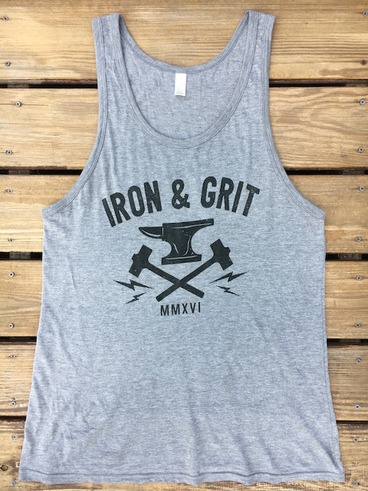 best workout shirt_Iron and grit