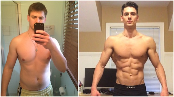 Skinny Fat Guy Before And After Iron Grit