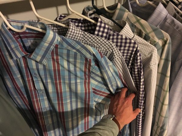 best mens dress shirt for athletic build mizzen and main