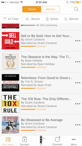 best audible audio books