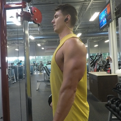 Spider curls arm exercise results