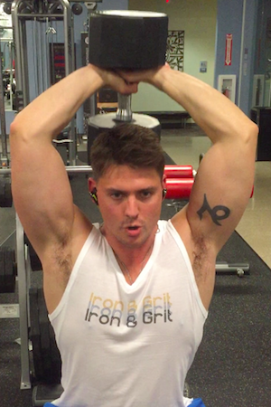arm workout for mass