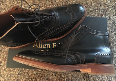 best mens casual shoe Allen Edmonds