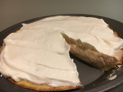 protein packed peanut butter creme pie